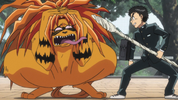 Episode 2 - Tora in pain from the spear