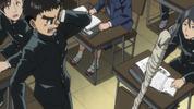Episode 2 - Spear resonating in Ushio's head