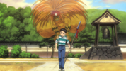 Episode 1 - Tora haunting Ushio