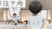 Episode 2 - Ushio cheering for Asako nonetheless