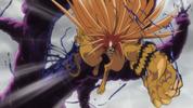 Episode 1 - Tora slices part of the Yokai in half