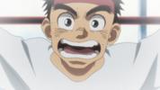 Episode 2 - Ushio during Asako's volleyball match