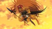 Episode 2 - Tora grabbing onto Ushio
