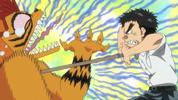 Episode 1 - Ushio pushing spear in again