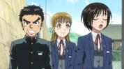 Episode 1 - Asako mocking Ushio
