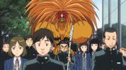 Episode 2 - Tora on Ushio's shoulders