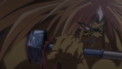 Episode 1 - Tora grabbing Beast Spear2