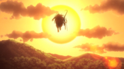 Episode 2 - Tora and Ushio fly away to the sunset