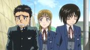 Episode 1 - Ushio forgetting Asako's notebook