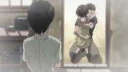 Episode 5 - Lei Xia hugging Hyo