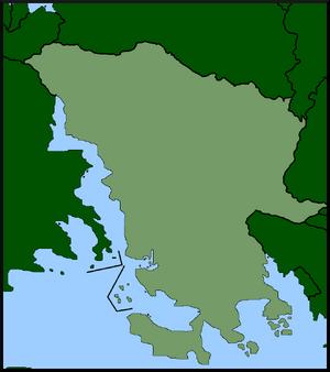 Location of Posillipo