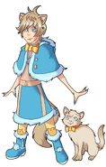 Leslie HUNTER + Cat Form 1.1 by VertigoP