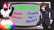 Creative Hanae and Hayate Masara