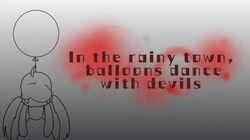 【UTAU NEWCOMER】【Mushiria】 In the rainy town, balloons dance with devils 【UTAU cover】