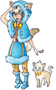 Leslie HUNTER + Cat Form by LazuliP