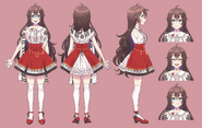 Shinta Amaine reference sheet