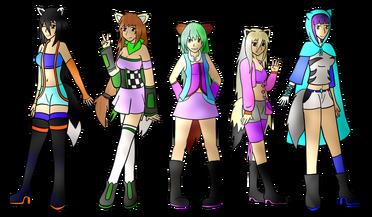 Megami wolves (Picture By DarkBox-V2k).png