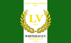 Colours of the 55th Regiment of Whitehaven.
