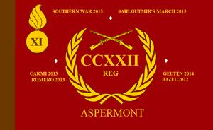 Regimental Colours of the South Aspermont Regiment