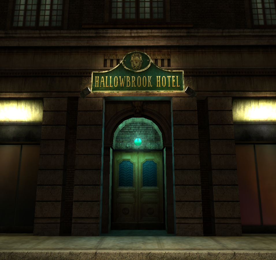 Hell at the Hallowbrook Hotel