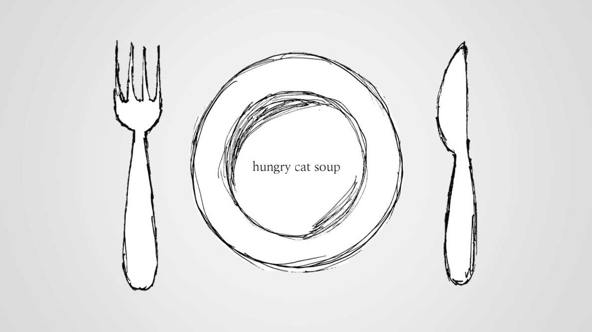Hungry cat soup