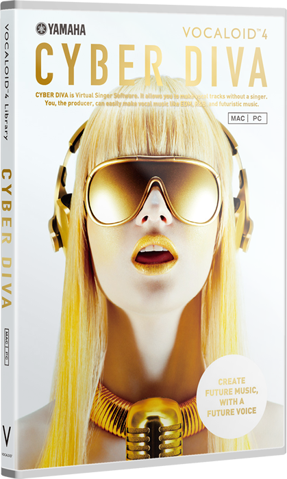 CYBER DIVA is Virtual Singer Software