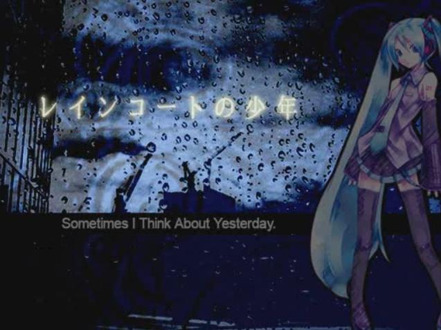 レインコートの少年 (Raincoat no Shounen)