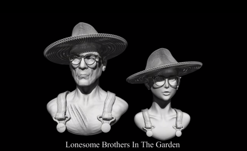 Lonesome Brothers In The Garden
