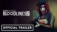 Vampire The Masquerade Bloodlines 2 - Official Damsel Trailer Summer of Gaming 2020