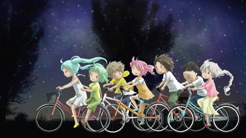 星と蛙と田舎道 (Hoshi to Kaeru to Inakamichi)