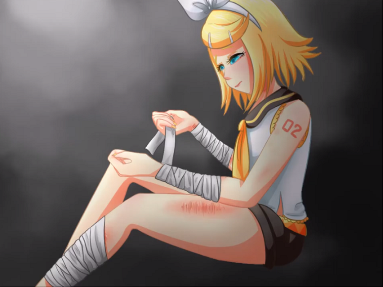 Bandaged Girl