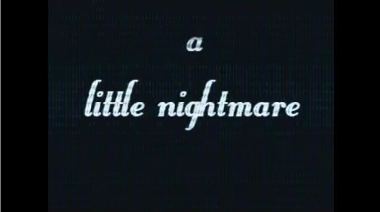A little nightmare