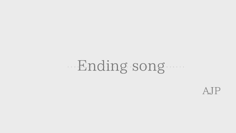 Ending song