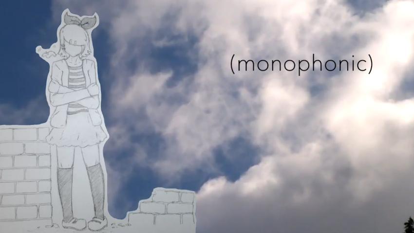 (monophonic)