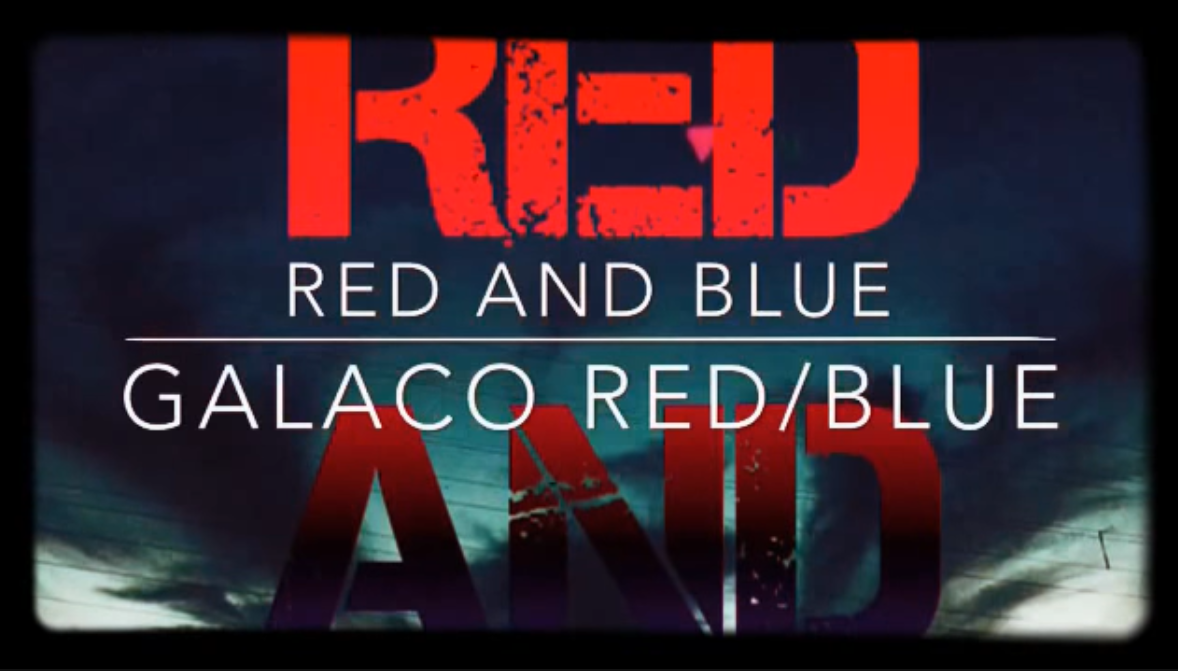 RED AND BLUE