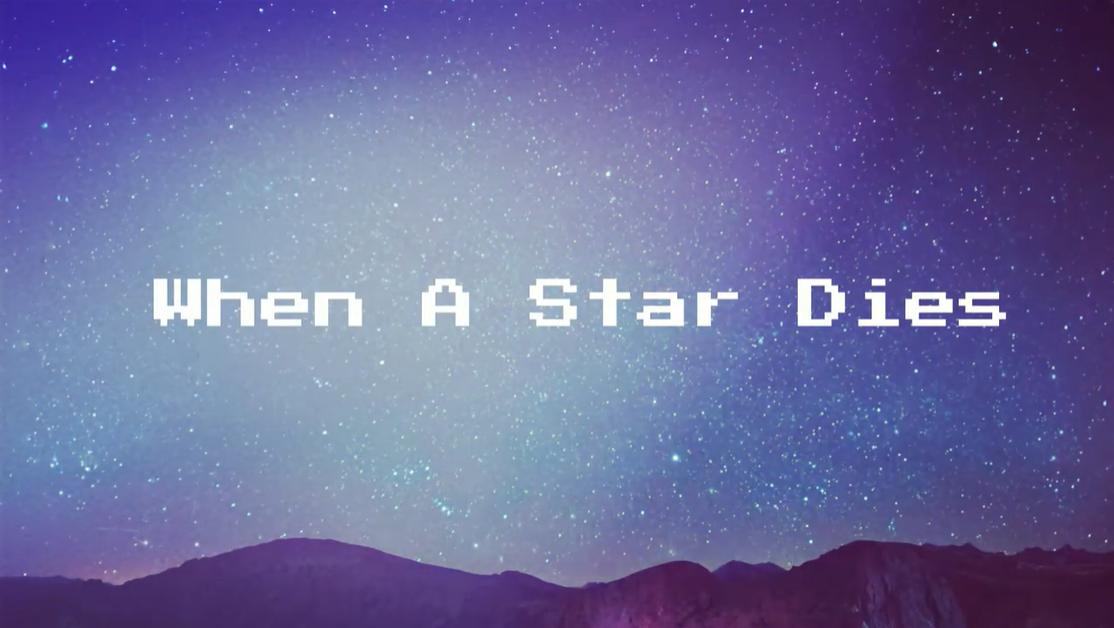 When A Star Dies