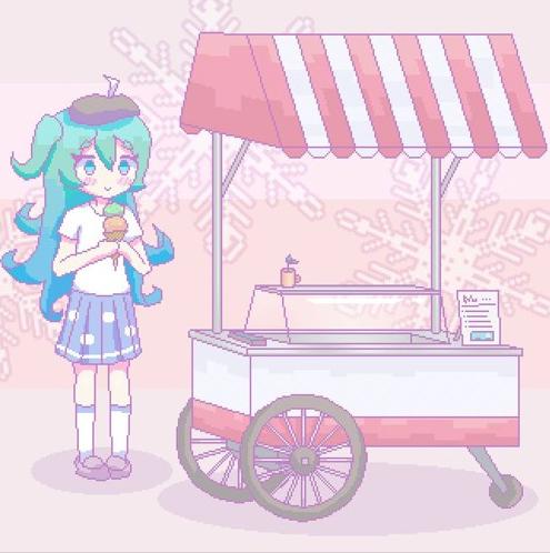 Apple Ice Cream Queen