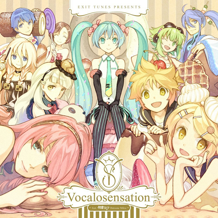 EXIT TUNES PRESENTS Vocalosensation feat. 初音ミク (EXIT TUNES PRESENTS Vocalosensation feat. Hatsune Miku) (album)