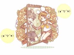 Rin-chan to Fushigi na Manekko Mirror.png