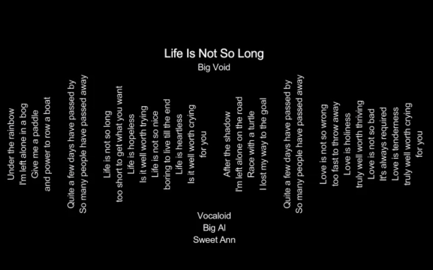 Life Is Not So Long