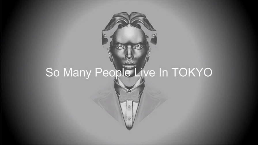 So Many People Live In TOKYO