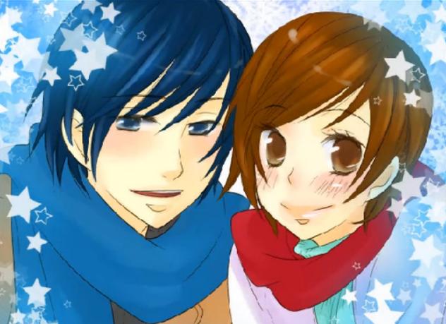 クリスマスイヴの夜に-幸せサイド- (Christmas Eve no Yoru ni -Shiawase Side-)