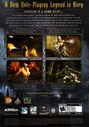 Vampire - The Masquerade - Bloodlines (Back Cover)