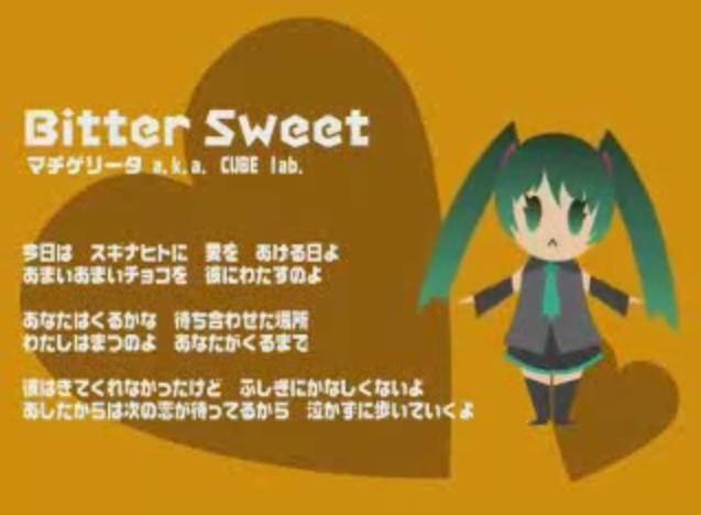 Bitter Sweet/MachigeritaP