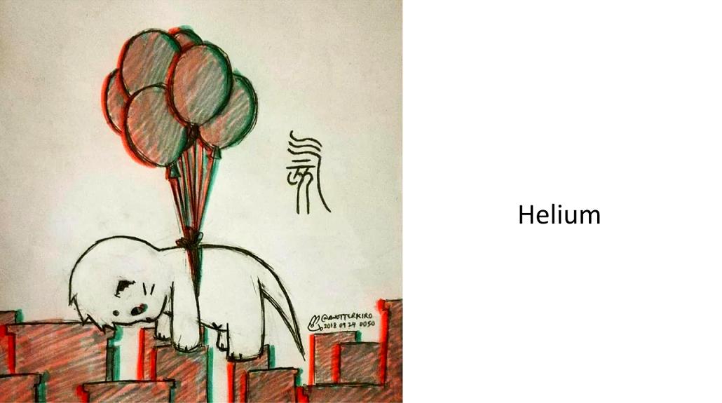 Helium/kiropao