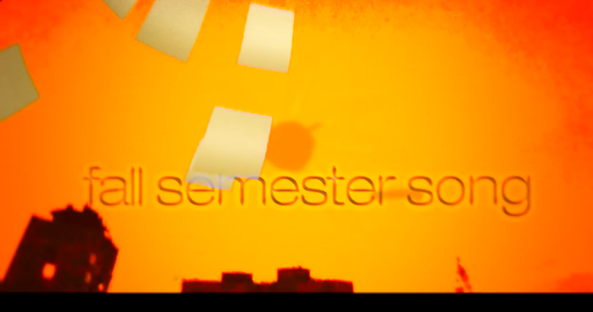 Fall semester song