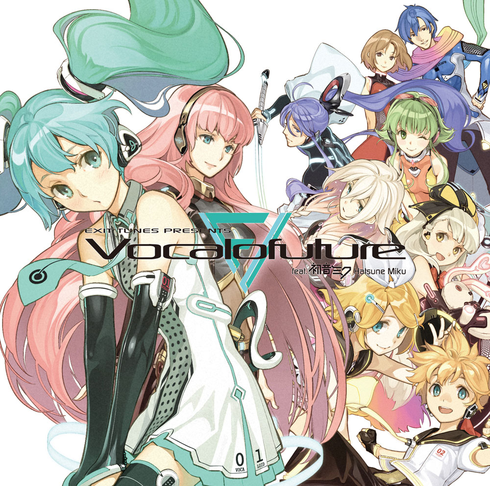 EXIT TUNES PRESENTS Vocalofuture feat.初音ミク (EXIT TUNES PRESENTS Vocalofuture feat. Hatsune Miku) (album)