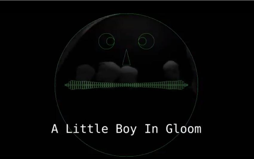 A Little Boy In Gloom