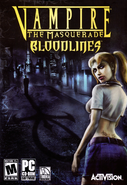 Vampire - The Masquerade - Bloodlines (Cover)