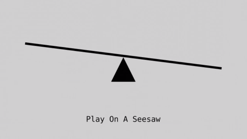 Play On A Seesaw